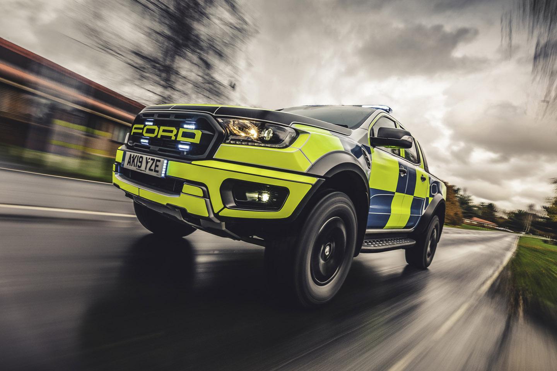 Ford Ranger Raptor police