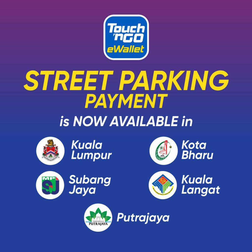 Touch 'n Go eWallet parking