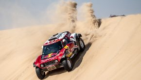 Mini Buggy wins Dakar 2019