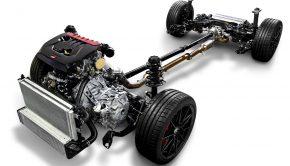Toyota three-cylinder engine