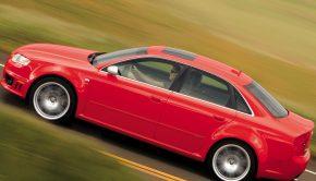 Audi RS 4 sedan 2008 model
