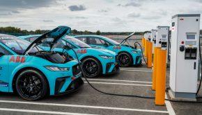 Jaguar I Pace fast charging
