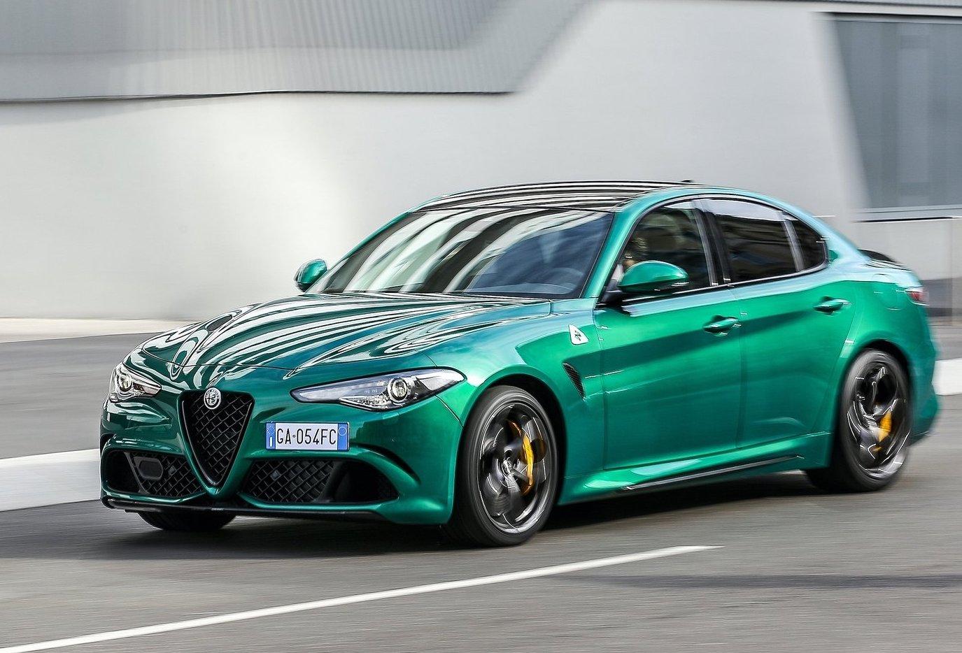 Alfa Romeo Giulia Quadrifoglio Goes Green