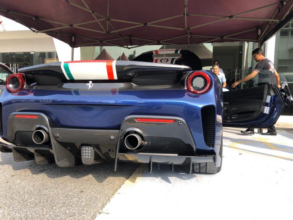 Ferrari Pista Piloti Dovetail